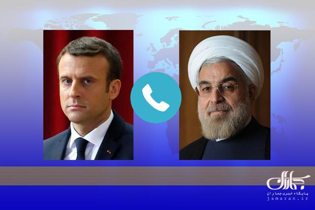 روحانی: از دیدگاه دولت، مجلس و مردم ایران در شرایطی که تحریمها باقی باشد، مذاکره با آمریکا معنا و مفهومی ندارد/ مکرون: فرانسه به تلاشهایش برای اجرای مفاد برجام و رسیدن به تفاهم ادامه میدهد