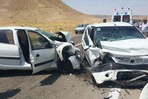 برخورد ۲ خودرو در محور اراک – سلفچگان قم هفت مجروح بر جای گذاشت
