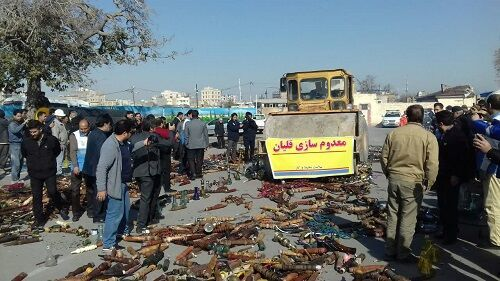 ۶ هزار قلیان در مشهد معدوم شد