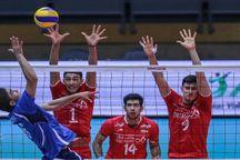 نتایج روز دوم رقابتهای والیبال جوانان در سراب مشخص شد