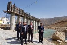 پل چهارم بشار یاسوج شهریور 97 به بهرهبرداری میرسد