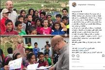 ملاقات قالیباف با بچههای زلزله زده کرمانشاه + عکس