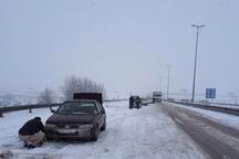 رفت و آمد در جاده های آذربایجان شرقی با زنجیر چرخ میسر است