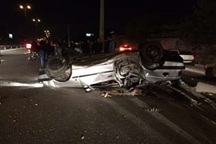 واژگونی خودرو در جاده بیرجند - قاین یک کشته داشت