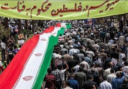 راهپیمایی روز جهانی قدس در کرمانشاه در یک مسیر برگزار می شود