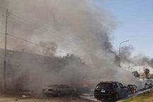 انفجار گسترده در یکی از بازارهای بغداد