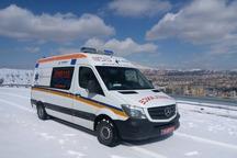 مصدومیت ۱۳ نفر در سه سانحه جادهای جداگانه در محورهای آذربایجان شرقی
