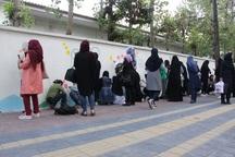 جشنواره نقاشی ورزش بر دیوار در آستارا برگزار شد