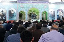 مراسم چهلم شهدای گمنام در نوشهر برگزار شد