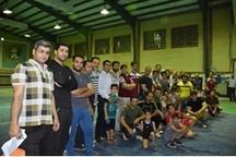 پایان مسابقات ورزشی ویژه ماه مبارک رمضان در اداره کل نوسازی مدارس استان
