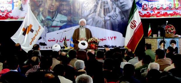 نظام اسلامی ایران مقتدرانه به جلو پیش می رود