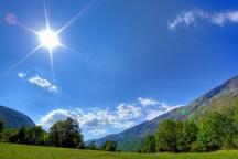 دمای هوای آذربایجان غربی نسبت به پارسال 2.9 درجه افزایش دارد