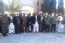 امام جمعه خاش: شهیدان نماد عزت و افتخار ایران سربلند هستند