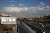 پیشبینی افزایش ابر در شمال استان تهران