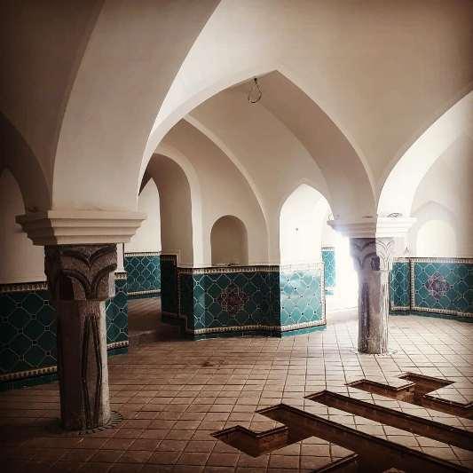 حمام تاریخی ملا اسدالله در گلپایگان مرمت شد