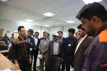 بازدید اعضای فراکسیون انرژی و نیروی مجلس از پالایشگاه آبادان بدون حضور رسانه ها