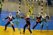 خیبر اراک نایب قهرمان مسابقات هندبال دختران منطقه پنج کشور شد