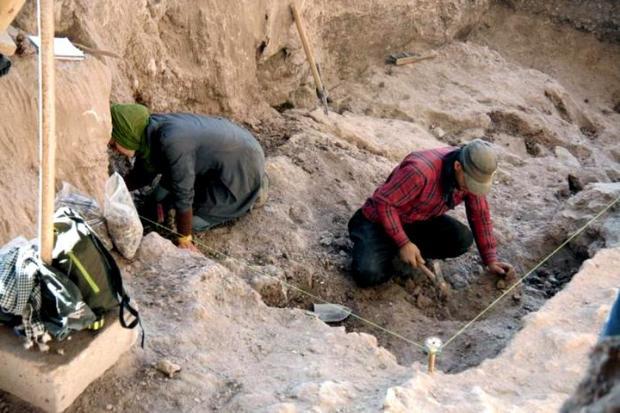 یک محوطه باستانی در جیرفت کشف شد