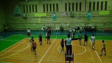 مسابقات والیبال جام رمضان در شهرستان سروآباد پایان یافت