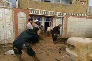مشارکت خیران قزوینی در پاکسازی شهر سیل زده پلدختر