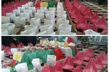 توزیع سبد کالای رمضان در بین خانواده مددجویان عجب شیر
