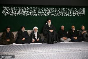 آخرین شب مراسم عزاداری حضرت فاطمه زهرا (س) در حسینیه امام خمینی
