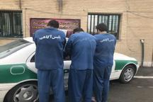 اعضای باند سارقان مسلح درالبرز دستگیرشدند