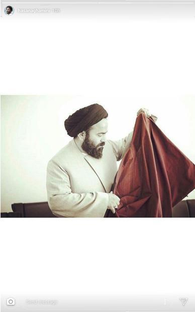 استوری جدید سیدحسن آقامیری پس از دریافت حکم خلع لباس