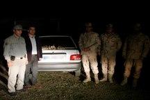 سه شکارچی متخلف در بیله سوار دستگیر شدند