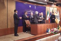وزارتخانه های دفاع و نفت قرارداد ساخت خط لوله انتقال گاز امضا کردند
