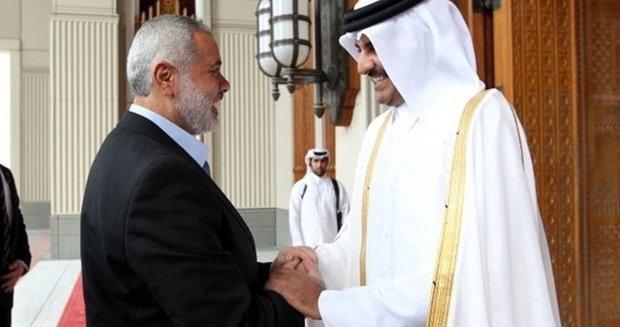 امیر قطر به هنیه تبریک گفت