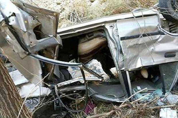 حادثه رانندگی در حیران آستارا دو کشته و یک مصدوم برجا گذاشت