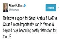 توئیت ریچارد هاس درباره تحولات اخیر قطر