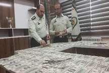 کشف دلار تقلبی به ارزش 820 میلیون ریال در سردشت