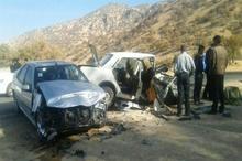 2 تن در سانحه تصادف در نهاوند کشته شدند