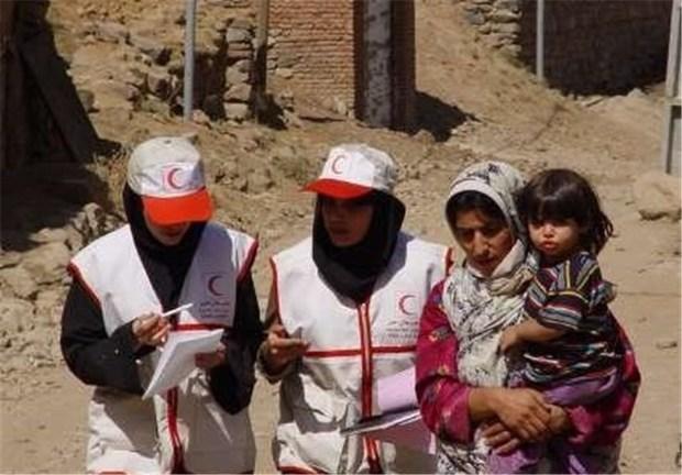 هلال احمر کرمان به 1400 ایرانشهری خدمات درمانی ارائه کرد