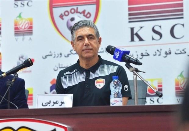 سر مربی فولاد خوزستان: هر 2 تیم بازی زیبایی به نمایش گذاشتند