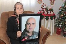 مادر شهید اودیسیان: 28 سال پرستاری فرزند جانبازم هرگز مرا خسته نکرد