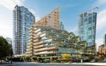 بلندترین سازه چوبی هیبریدی جهان در ونکوور + تصاویر