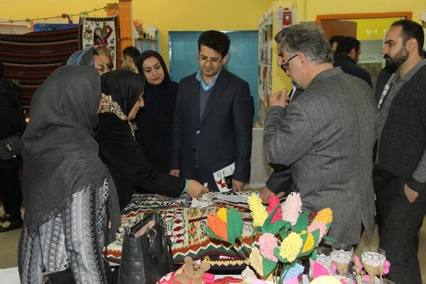 نمایشگاه نوروزی صنایع دستی در آستارا برپا شد