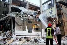 انفجار گاز در دزفول موجب تخریب یک خانه شد