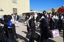 دانش آموزان  بهشهری به اردوی راهیان نور اعزام شدند