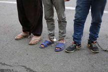 ۱۵۴ سارق در طرح صاعقه پایتخت دستگیر شدند