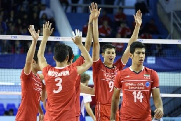 والیبالیست نوجوان گیلانی به همراه تیم ملی قهرمان جهان شد