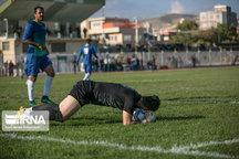 تساوی تیم فوتبال کاسپین قزوین بیرون از خانه