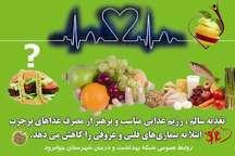برنامه غذایی نامناسب عامل مهم بیماری های قلبی و عروقی