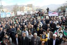 نماینده ولی فقیه و استاندار ایلام از حضور مردم در راهپیمایی 22 بهمن تقدیر کردند
