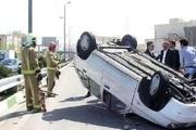 سه نفر در حادثه رانندگی کرمان مصدوم شدند