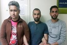 دستگیری باند سارقان خشن در گوهردشت+عکس