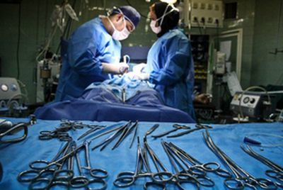 پسر جوان بعد از جراحی صورت فوت کرد